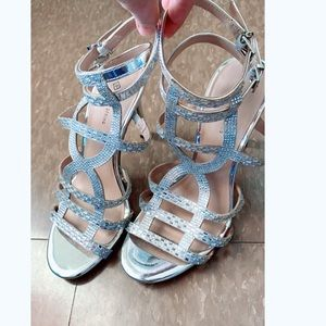Call it Spring Sparkly Sandals